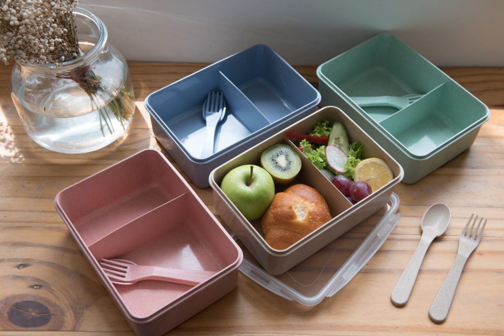 Eco lunch box with Divider GP-W007 - Green Planet ConceptGreen ...